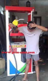 Flow Sensor Alat Ukur Pertamini pompa bensin mini digital 1 noozle alat ukur modern