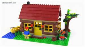 lego creator 5766 log cabin 3 in 1 set review