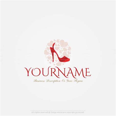 Design Logo Online Shop Gratis | free logo maker shoes store logo design logo maker