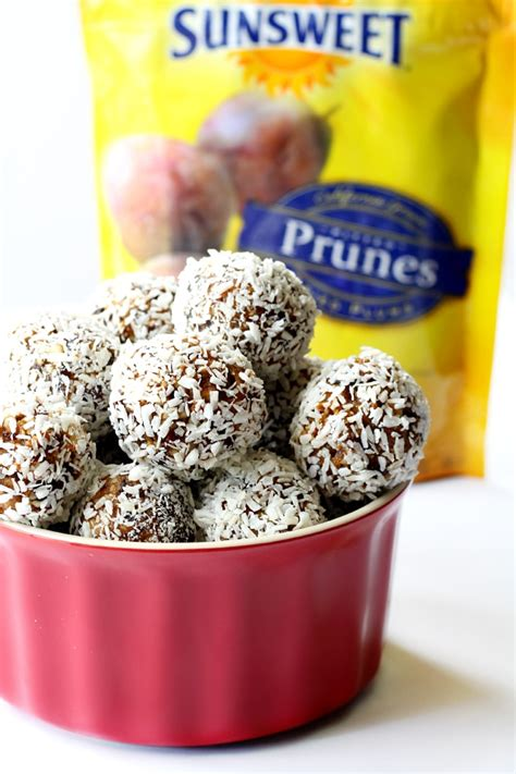 Spikoe Prunes prune power balls s cravings