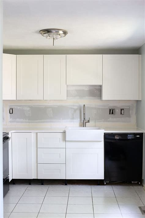 Ikea Toe Kicks Gap On Uneven Floor by How To Design And Install Ikea Sektion Kitchen Cabinets
