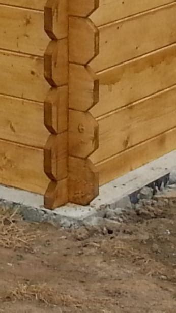 tuinhuis plaatsen op beton spleet afdichten tussen hout en beton van tuinhuis bouwinfo
