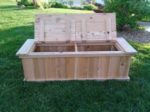 Cedar Bench Vanderhoff Construction