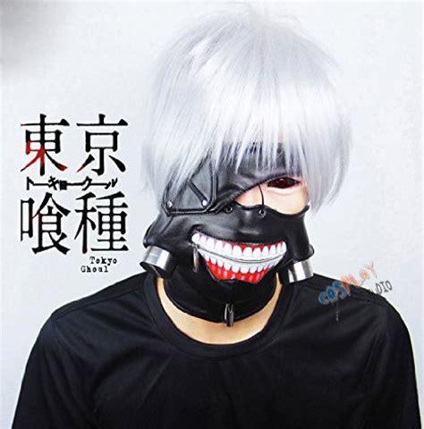 jual mask tokyo ghoul kaneki ken tailed fox distro