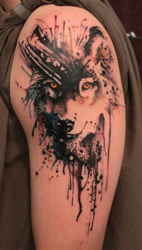 Moderne Tattoos Vorlagen Wolf 60 Inspirierende Ideen F 252 R M 228 Nner Und Frauen Tattoos Zenideen