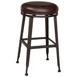 Backless Bar Stools Hillsdale Backless Bar Stools Black Metal With Copper