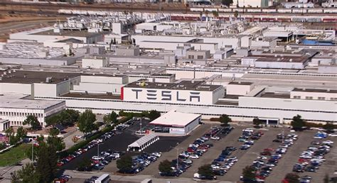 tesla fremont california tesla confirms fremont factory usage is now at 40
