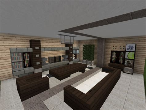 minecraft modern living room 3 modern living room designs minecraft project
