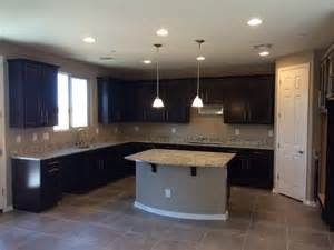 Rooms To Go Kitchen Furniture Dark Brown Furniture Gray Walls And Tile