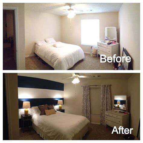 before and after bedrooms diy bedroom makeover before after pinterest bedroom