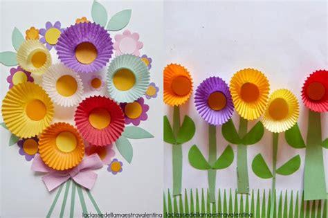 fiori di carta bambini 6 simpatiche idee regalo fai da te per la festa della