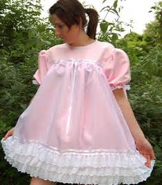 cosy n dry frilly sissy satin smocked dress order code