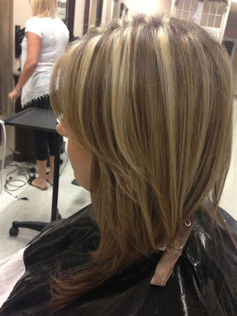 high low hair high and low lights hair pinterest low lights