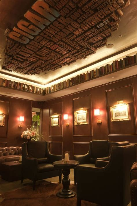 design quarter art lounge cigar bar lang club interior design pinterest bar