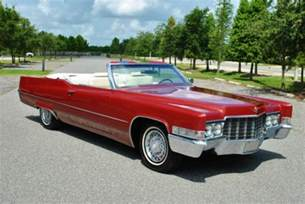 Cadillac Convertible 1969 Cadillac Convertible For Sale