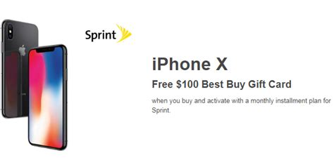 Iphone Best Buy Gift Card - iphone x with free 100 best buy gift card only 12 20 ftm