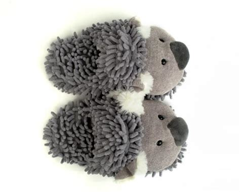 childrens animal slippers koala slippers