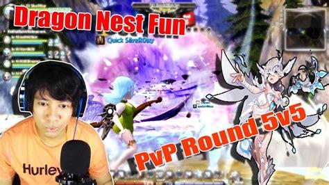 fb dn ina main rusuh dragon nest ina pvp round 5v5 vestinel youtube