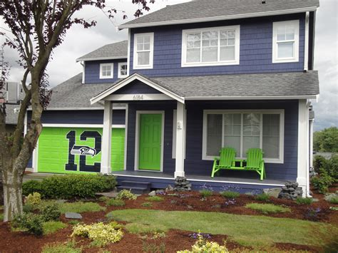 Seahawks House by From Car To Crockpot The Ferndale Who Lives In A
