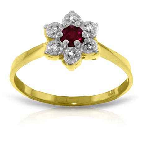 Ruby 6 0 Ct brand new 0 23 ct 14k solid gold ruby ring
