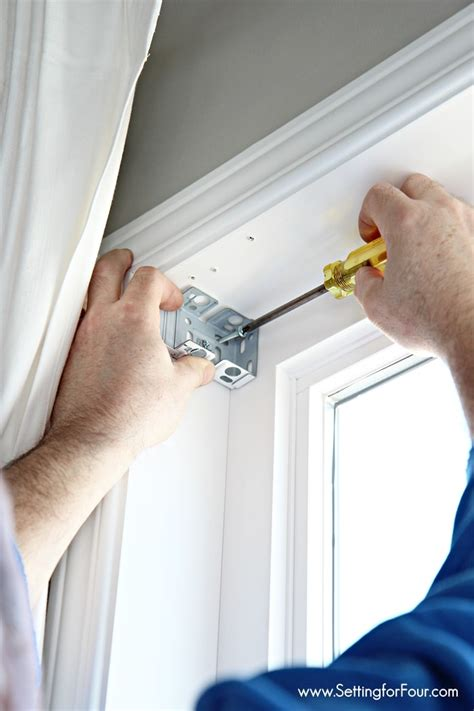 how to install a window blind updating the windows faux wood blinds installation