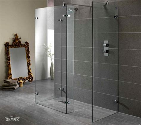 Walks In On In Shower by Skyfix Co Ltd Walk In Shower Enclosures Screen