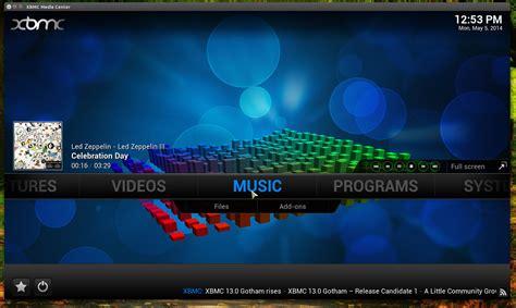 format video xbmc xbmc 13 0 gotham released web upd8 ubuntu linux blog
