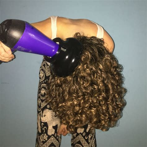 Hair Dryer Diffuser Meaning how to get volume curl definition with a diffuser