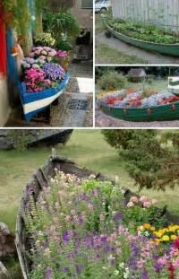 24 creative garden container ideas creative garden