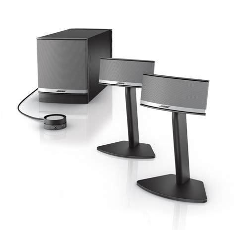Speaker Bose Companion klipsch promedia 2 1 vs bose companion 5 two high tech multimedia home speaker systems