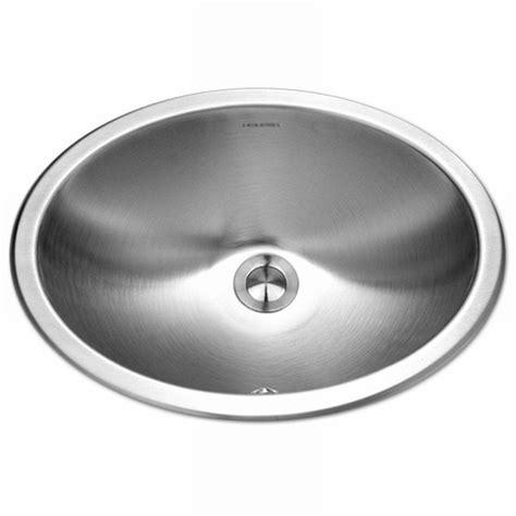 stainless steel undermount bathroom sink houzer opus series undermount stainless steel 13 6 in