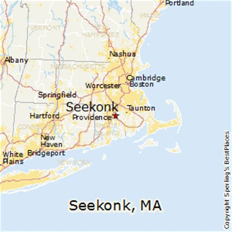 best places to live in seekonk massachusetts