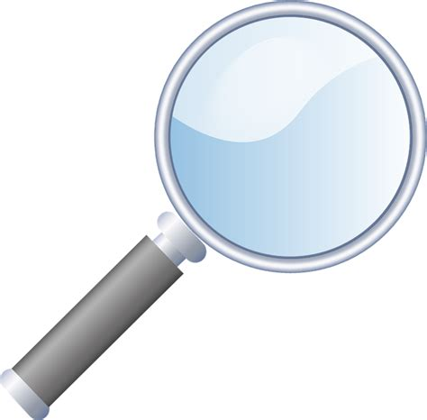 Magnifying Glass magnifying glass magnifier 183 free vector graphic on pixabay