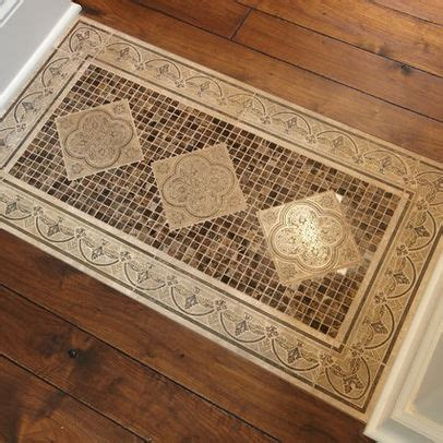 tile rug designs 9 best images about tile rug inlays on white flooring photos and bathroom