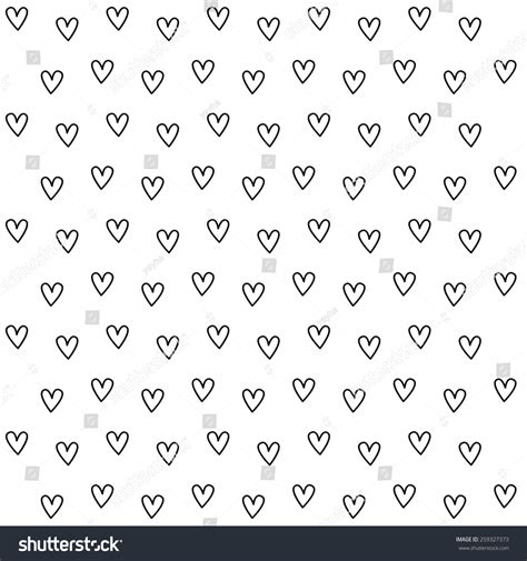 black and white heart pattern wallpaper black white heart pattern background stock vector