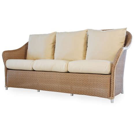 ottoman couch vire weekend lloyd flanders weekend retreat 5 piece wicker patio set