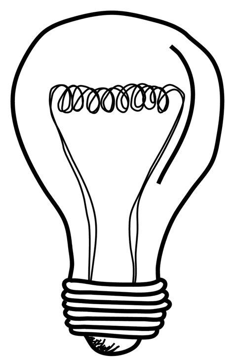 Light Bulb Outline Clip by Free Light Bulb Clip Pictures Clipartix