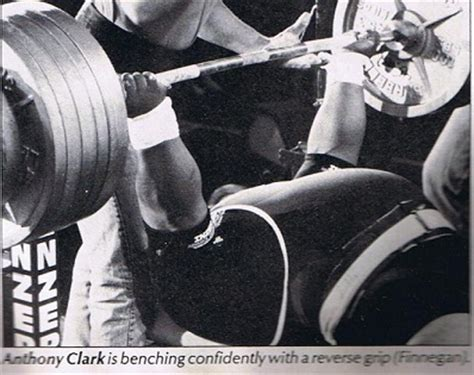 anthony clark bench press the reverse grip bench press
