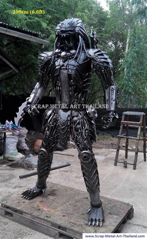 predator statue life size metal sculpture  sale thailand