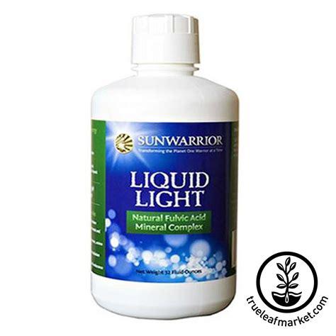 sunwarrior liquid light natural fulvic acid mineral complex 32 oz sunwarrior liquid light fulvic acid colloidal ionic