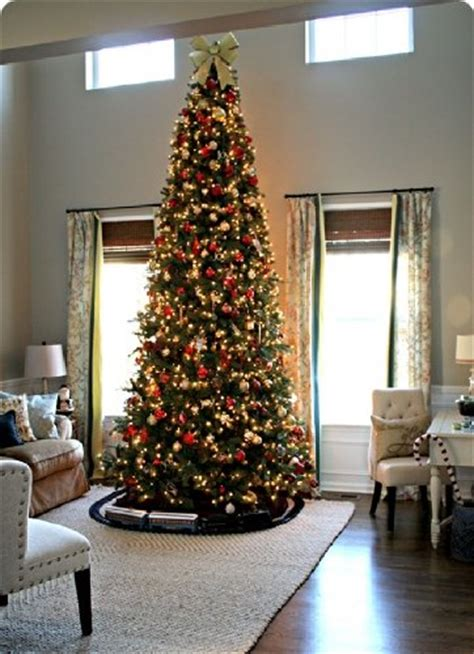 12 ft tall artificial slim christmas tree w 1100 lights