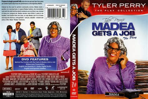 Gets An Cover by Madea Gets A The Play Dvd Scanned Covers