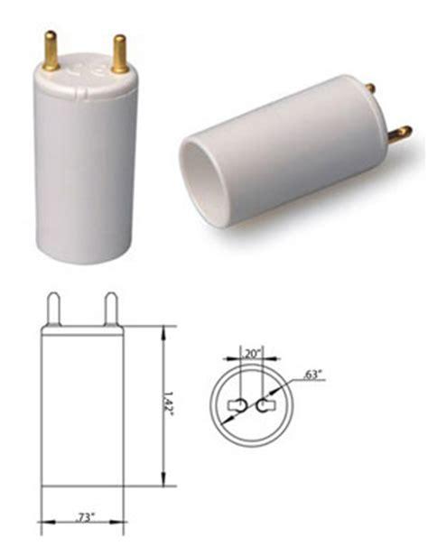 921 Light Bulb T8 T12 G13 Male T5 Bi Pin Female Converter Adapter 28 Watt