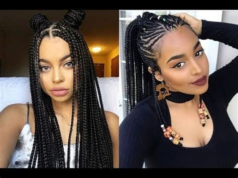 braided hairstyles hairstyles 2018 new haircuts and hair awesome cornrows hairstyles 2018 ideas american
