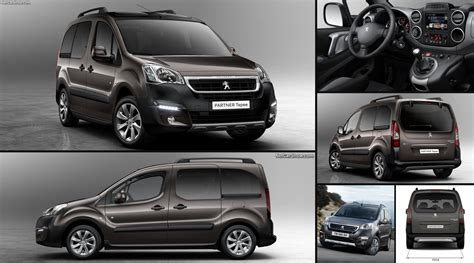 peugeot partner tepee  pictures information specs