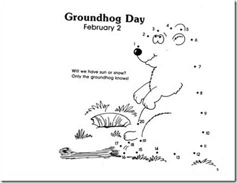 the groundhog day for free 12 best images about pre k dot to dot on