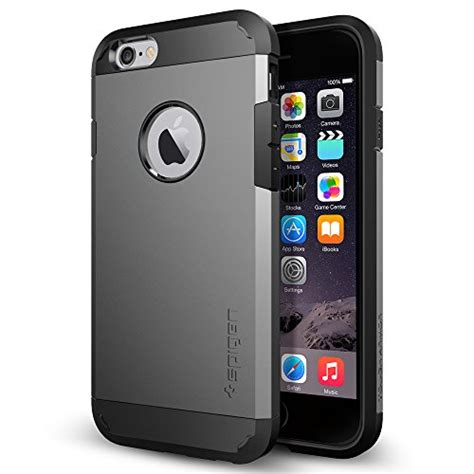 Spigen Iphone 6 4 7 Inch iphone 6 spigen tough armor for iphone 6 4 7