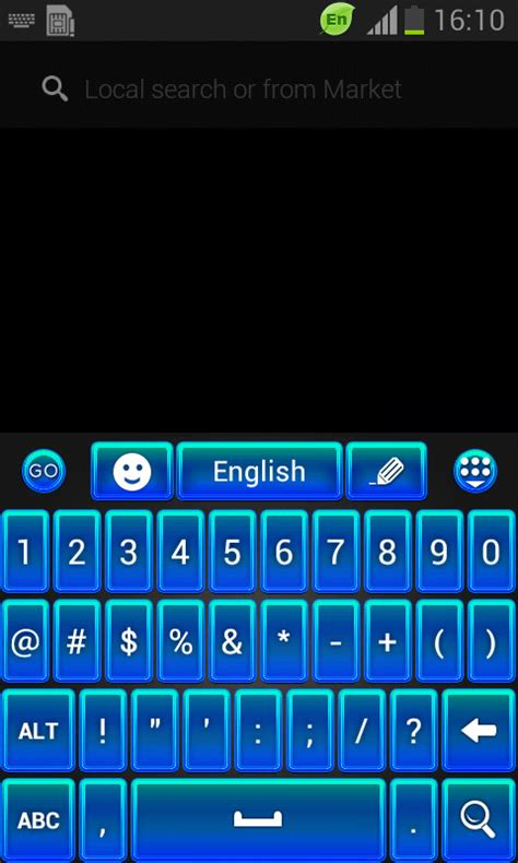 wallpaper for android keyboard go keyboard blue theme free android keyboard download appraw