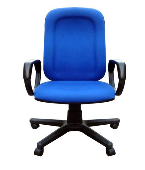 office chair in blue snapdeal price chairs deals at