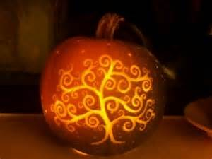 tree of life pumpkin carving halloween pinterest